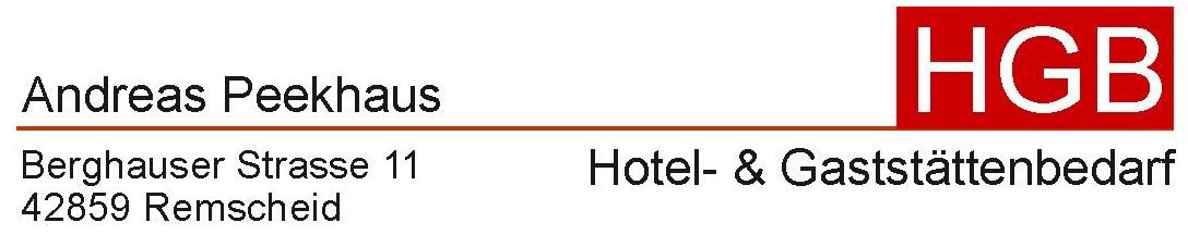 HGB Hotel- & Gaststättenbedarf